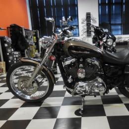 Harley-Davidson XL1200 Custom -04 H.5800e myyty!!