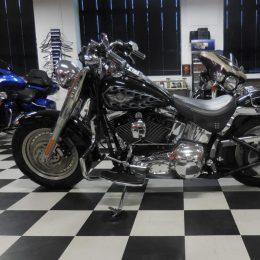 Harley-Davidson FLSTF 1450 -03 H.9800e myyty!!
