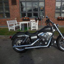 Harley-Davidson FXDB 1584 -08 H.9900e myyty!!