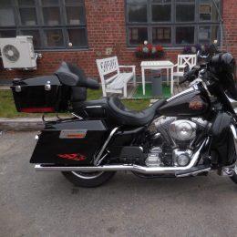 Harley-Davidson FLHT 1450 -01 H.9250e myyty!!