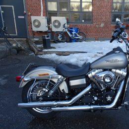 Harley-Davidson FXDB 1584 -08 H.11800e myyty!!